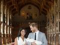Vojvodkyňa Meghan a jej manžel princ Harry sa tešia z maličkého synčeka, ktorému dali meno Archie.