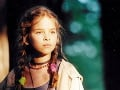 Kristína Svarinská ako 11-ročná vo svojom prvom filme.