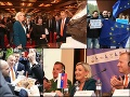 Návšteva Le Penovej sa zvrhla! VIDEO Vzbura antifašistov v uliciach aj v Dunaji, Kollár vytasil croissanty