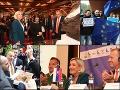 Návštevu Marine Le Penovej v Bratislave sprevádzali protesty