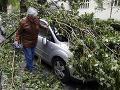 Chorvátsky Záhreb zažil najprudšiu búrku za posledné desaťročia: VIDEO Takúto zanechala spúšť