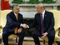Trump telefonoval s Orbánom: Rokovali o zahraničnopolitických témach aj migrácii