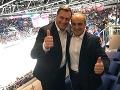 Danko zobral na zápas človeka, ktorý v živote nevidel hokej: FOTO Zážitok na tribúnach