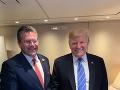 Maroš Šefčovič a Donald Trump.