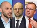 Hádky v opozícii: Sulík prirovnal progresívcov k extrémistom, Kollár je vraj prijateľnejší