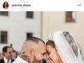 Jasmina Vrbovská Alagič sa pochválila prvou svadobnou fotkou so svojím manželom.