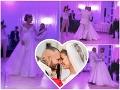 Tajné zábery zo svadby Jasminy a Rytmusa: Prvý tanec... Nevesta vyzerala ako Popoluška!