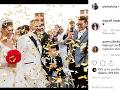 Pod prvými  zábermi sa na sociálnej sieti začali objavovať gratulácie.