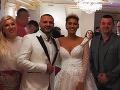 Prvá FOTO, na ktorej svadobné šaty Jasminy Vrbovskej Alagič vidno v celej kráse.