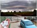 Európu sužujú búrky: VIDEO Jeden z našich okresov bojuje so záplavami, zlá správa od meteorológov