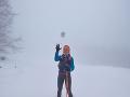 Lenku Vacvalovú potrápilo aj počasie.