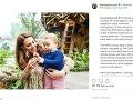 Vojvodkyňa Kate s mladším synčekom Louisom.
