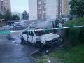 FOTO Veľká škoda na sídlisku v Košiciach: Požiar zasiahol 14 áut