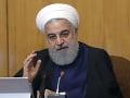 Iránsky prezident Rúhání naznačil možnosť vstúpiť do rokovaní s USA