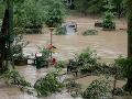 Silné dažde spôsobili v Nemecku záplavy: V Bavorsku zahynul človek