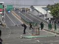 Jakarta sa zmieta v povolebných nepokojoch: Demonštrácie si vyžiadali šesť obetí