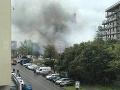 Požiar mal zasiahnuť budovu v rekonštrukcii.