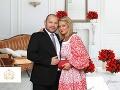 Alena Pallová na svadbu priviedla svojho čerstvého snúbenca.