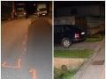 Nočná dráma v Senici: FOTO Vodičovi felicie spadol pod kolesá chodec (27), bojuje o život