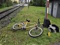 FOTO Hrôzostrašné ráno v Handlovej: Cyklistu (43) zachytil vlak, pri mužovi stáli všetci svätí