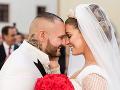Jasmina Alagič sa v polovici mája vydala za Patrika Rytmusa Vrbovského.