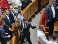Ukrajinskí poslanci odmietli rokovať