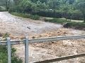 Slovensko sužujú záplavy.