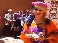 Speváčka zaspievala turistom na