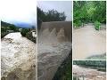 Povodne na Slovensku.
