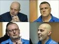 Na proces s Pavlom Ruskom dorazili aj mafiánsky bossovia Mikuláš Černák, Róbert Lališ a Miloš Kaštan.