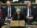 Theresa Mayová v britskom parlamente