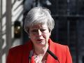 PRÁVE TERAZ Britská premiérka Mayová končí: Oznámila to so slzami v očiach