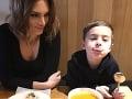 Veronika Vágnerová so synom Alexom