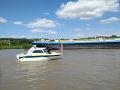 Pátracia akcia na Dunaji: Muž plával smerom k nákupnému centru, stratil sa pod hladinou