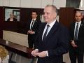 Andrej Kiska odvolil v Poprade.