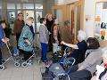 Mimoriadne vysoký záujem zúčastniť sa na voľbe do Európskeho parlamentu mali klienti Zariadenia pre seniorov Zobor v Nitre.