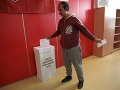 Eurovoľby v Košiciach na Luníku IX.