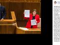 Natália Blahová informovala o rozhodnutí generálneho prokurátora v kauze Čistý deň.