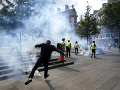 Protesty v Paríži