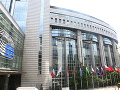 Európsky parlament v Bruseli.