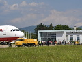 FOTO historického momentu v Piešťanoch: Mesto sa dočkalo, z letiska odletel prvý chartrový let