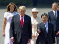 Trump sa ako prvý politik stretol s novým japonským cisárom: Reč padla aj na Severnú Kóreu