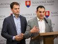Igor Matovič a Peter Pollák