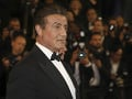 Sylvester Stallone na premiére filmu Rambo: First Blood.