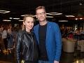 Andy Kraus s tehotnou priateľkou Jankou prvýkrát oficiálne ruka v ruke v spoločnosti.