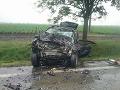 Tragická nehoda pri Trnave.