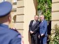 Kiska na poslednej návšteve v Česku, vrúcne objatie so Zemanom: VIDEO Budeš mi chýbať, Andrej