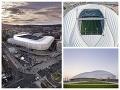 Vľavo Národný štadión, vpravo Al Wakrah