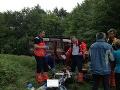 Horskí záchranári mali plné ruky práce: V Slovenskom raji pomáhali zranenej turistke