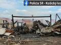 Pílu v Košiciach zničil požiar: FOTO Hasiči ho likvidovali niekoľko hodín, obrovská škoda